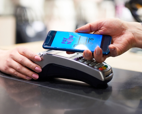 contactless payment COMMERCIAL