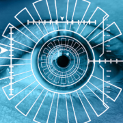 eye scan identification COMMERCIAL